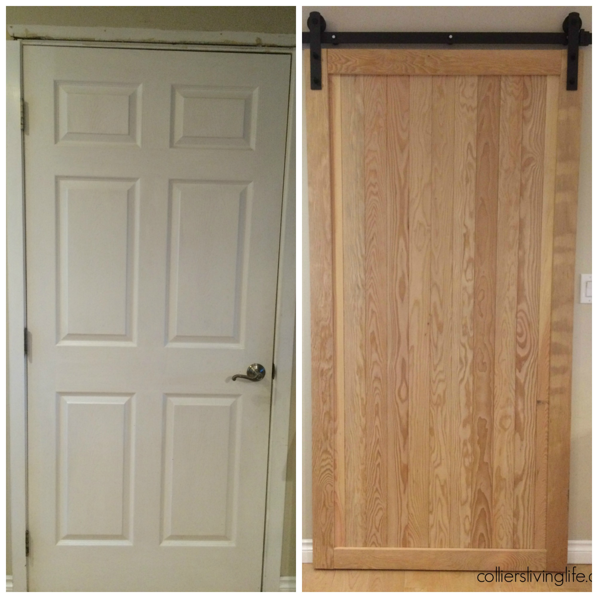 Diy Sliding Barn Door Easy To Build With Easy To Follow Directions