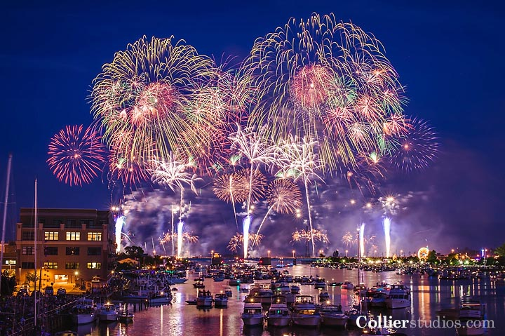 2012 Bay City Fireworks Display  Collier Studios