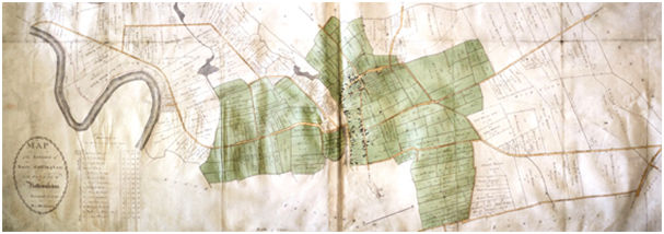 Map courtesy of Nottinghamshire Archives