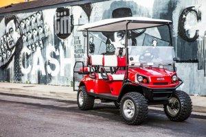 Nashville Tourist Spots; Golf Cart