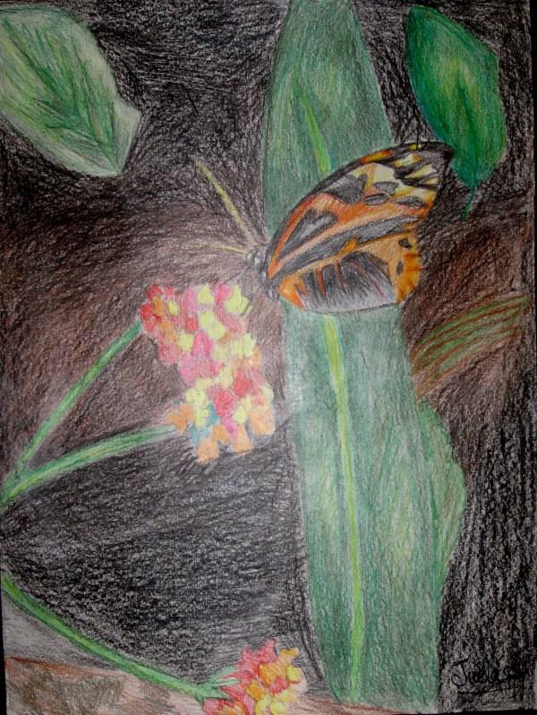 6th Grade Watercolor Paintings of Flowers