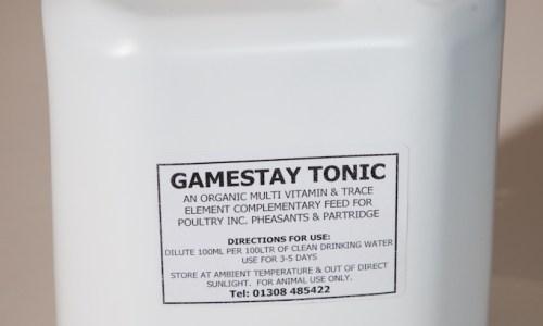 Gamestay Tonic Supplement