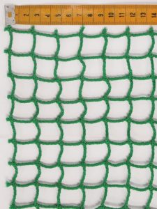 Golf practice cage netting