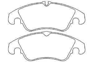 Mintex 1144 Front Brake Pads – Focus RS Mk2