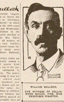 collinwood fire william bullock portrait advertisement