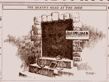 collinwood fire doorway illustration deaths head doorway-cropped-web