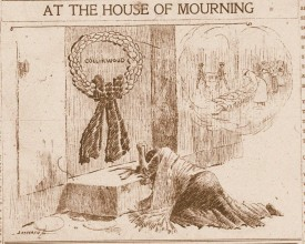 collinwood fire illustration mourning mother
