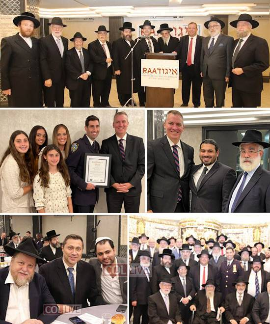 Igud HaRabbonim Thanks NYPD for Ongoing Efforts