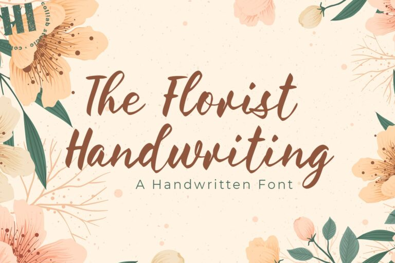Preview image of The Florist Handwriting