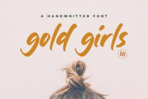 Gold Girls - A Handwritten Font