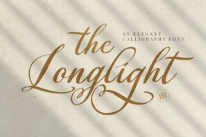 The Longlight - An Elegant Calligraphy Font
