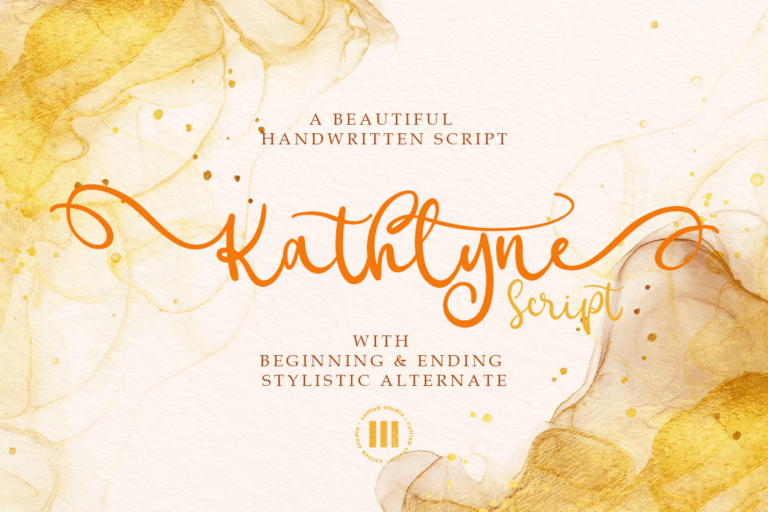 Preview image of Kathlyne Script
