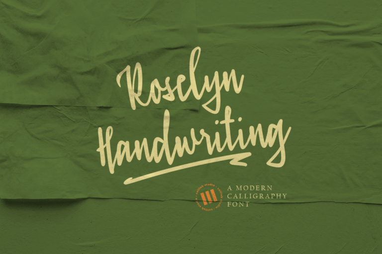 Preview image of Roselyn Handwriting