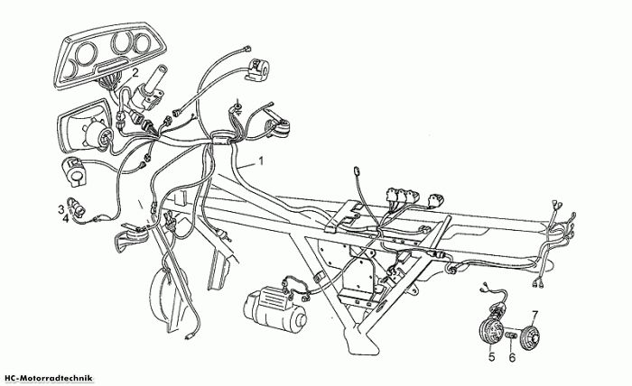 Moto Guzzi Var.E.Verkleid. California III Iniezione 1000