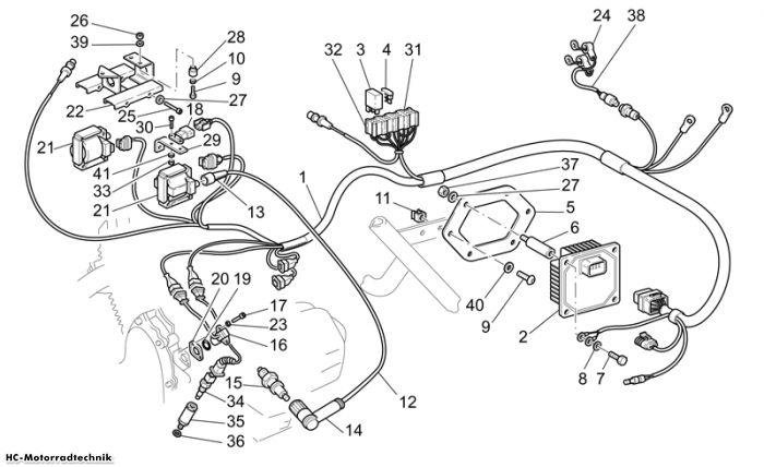 Moto Guzzi E. Anlage I California EV/EV Touring PI 1100