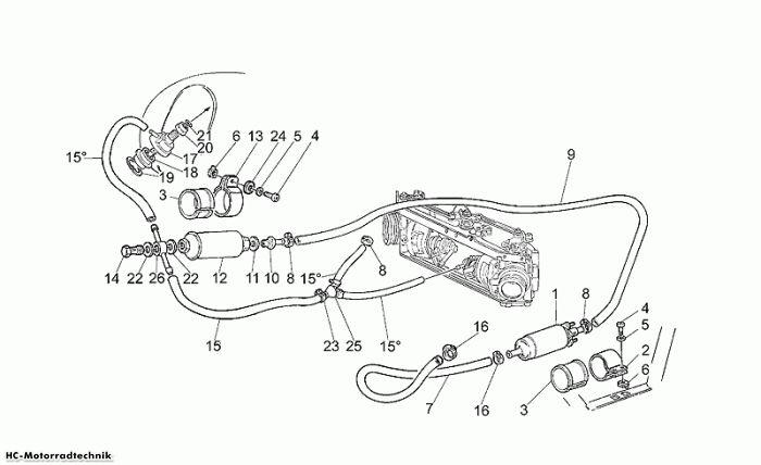 Moto Guzzi Einspeisung Verga. California Jackal 1100