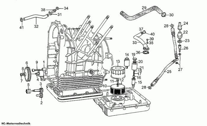 Moto Guzzi Ölpumpe California III Iniezione 1000