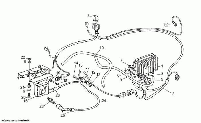Moto Guzzi Elektrische Anlage Digiplex California 1100