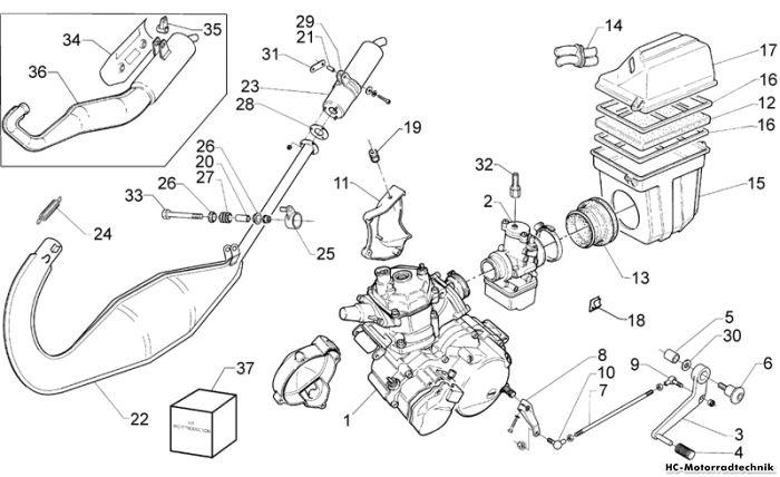 aprilia rs 50 1998 wiring diagram 2002 mitsubishi lancer motor 125 | 50/125/250 ersatzteile hc motorradtechnik