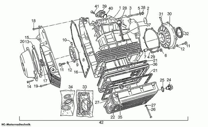 Moto Guzzi Ölfilter