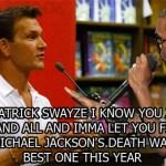When Kanye Met Swayze