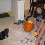 Pumpkin Carving in the 919 for '09