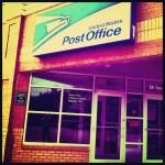 Day 11: Door. The door to the worst post office in America!
