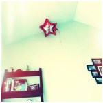 Day 12: From a Low Angle. The balloon hangs on.