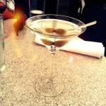 Day 28: Cup. Martini in La Jolla. Cup, glass, whatever.