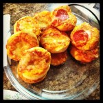 Day 16: Something You Made. Pizza bites for a party appetizer last night!