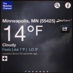 Day 28: Cold.  Minnesota in Decembrrrrrr.