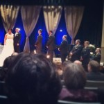 """Day 30: Something That Made You Smile This Year. Watching all my """"boys"""" from high school be on the alter when Ian got married & feeling so blessed to still be friends with all of them made me smile from my heart."""