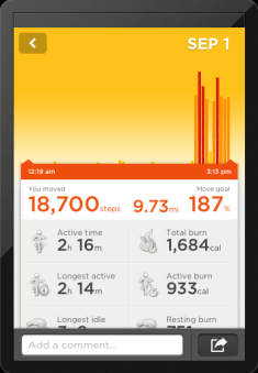 JawboneUP-tracking-steps
