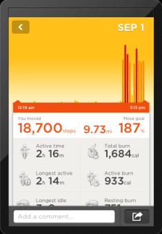 JawboneUP-tracking-steps