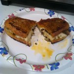 That Time I Made a Mozzarella & Olive Tapenade Panini