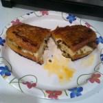 That Time I Made a Mozzarella & Olive Tapenade Panini