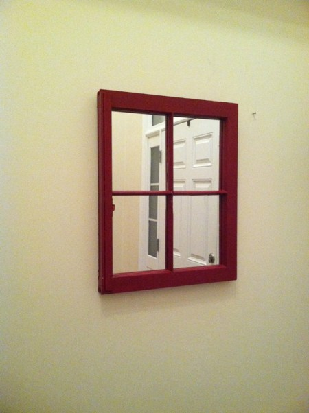 That Time I Made A Window Frame Mirror Coll Writes