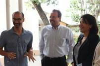 Momento con Luis Toirac y Leandra Tapia. Fotos: LRojas y MMartínez.