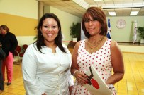 Marilin Robles y Ailin Lockward