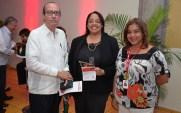 Antinoe Fiallo, Martha Rodriguez y Zobeida Ramirez