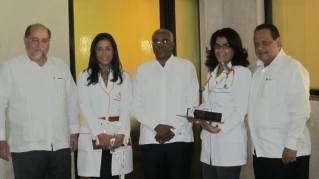 Grupo de homenajeados Area de la Salud