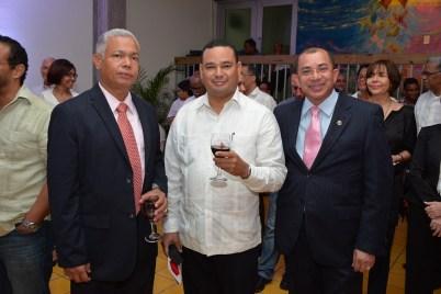 Jose Feliz, Franklin Vasquez y Luis Torres