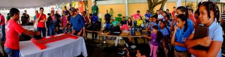 Séptima competencia de robots Hands on INTEC 2014, Mecatrónica.