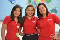 Mariel Ferreira, Maylin Peña y Yanira Paniagua