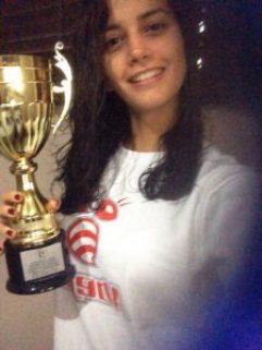 Gabriela Schecker, ping pong INTEC