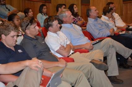 Una conferencia que se realizó como parte del intercambio de 2015.