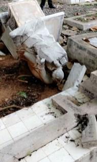 El ADN anunció un plan de rescate el cementerio y de sus espacios.