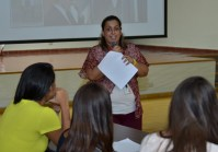Natasha nos invitó a identificar cómo se manifiesta el stress en nuestras vidas.