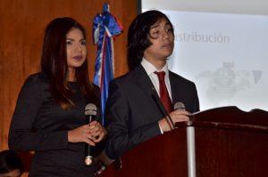 Sheila Santos y Takumi Ariyama
