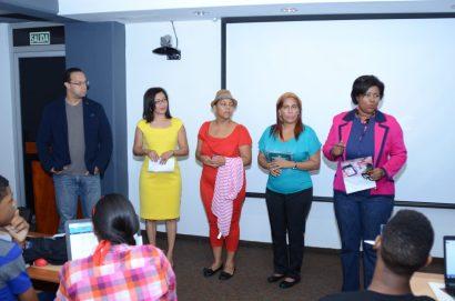 Reynaldo Infante, Ana López, Marisol Mendoza, Wendy Carrasco y Rosa Alcántara.